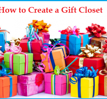 How to Create a Gift Closet