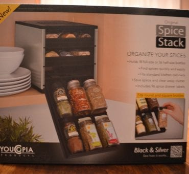 Review: Original SpiceStack 18 Bottle Organizer by YouCopia Products