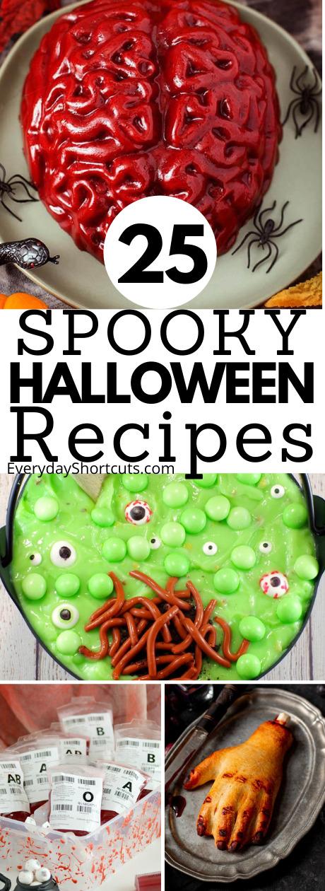 spooky halloween recipes