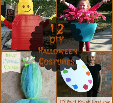 12 DIY Halloween Costumes