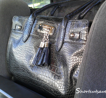Review: Car Cache Purse Organizer + Giveaway