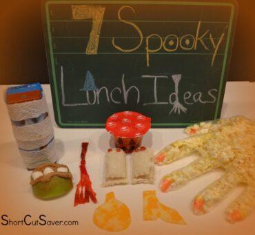 7 Spooky Lunch Ideas