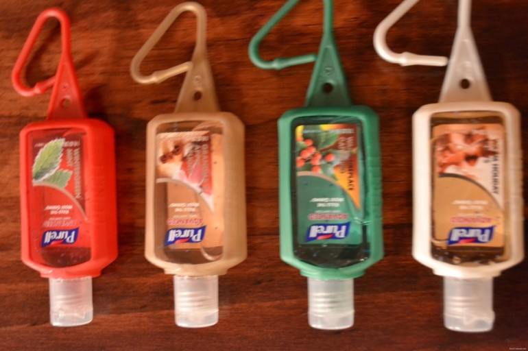 Review: PURELL Holiday Scented Jelly Wraps