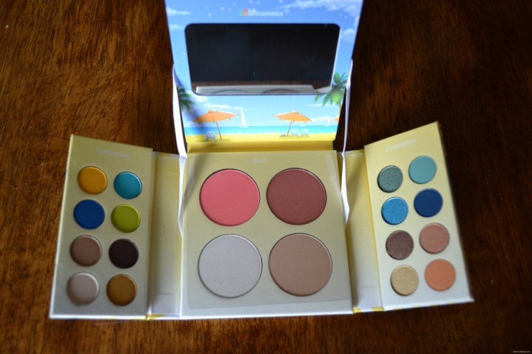 Review: BhCosmetics – BH Malibu Eye Shadow and Blush Palette