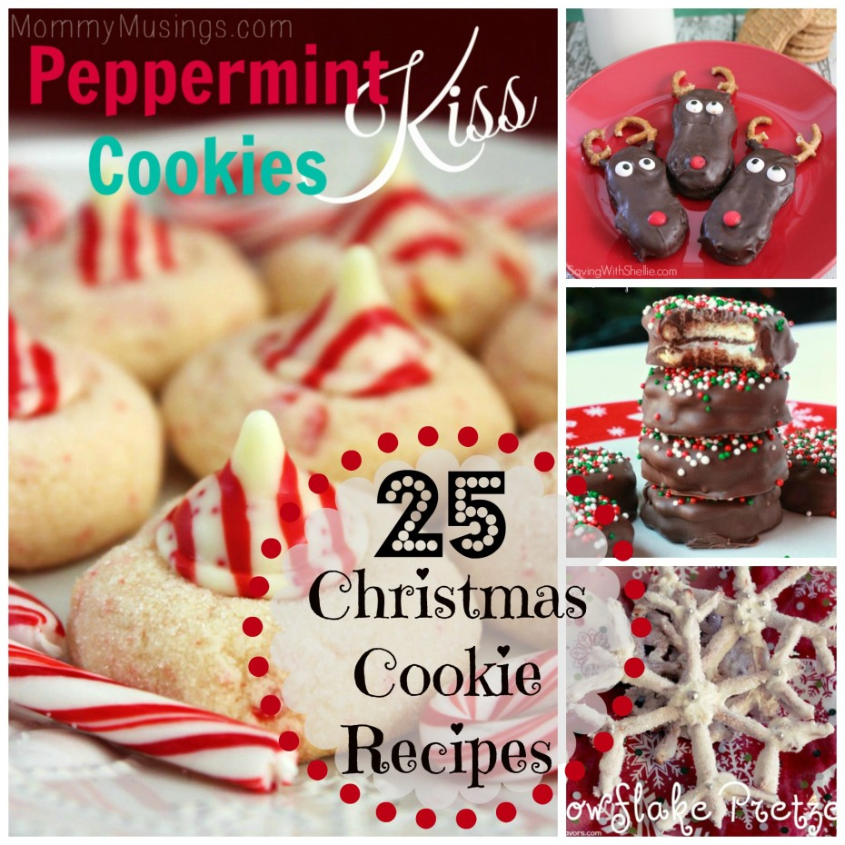 25 Christmas Cookie Recipes Everyday Shortcuts