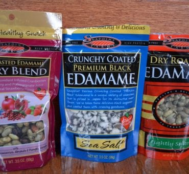 Review: Seapoint Farms Dry Roasted Edamame - A Natural Healthy Snack