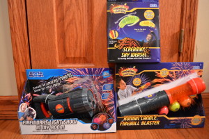 Review: Uncle Milton's Fireworks Light Show Products