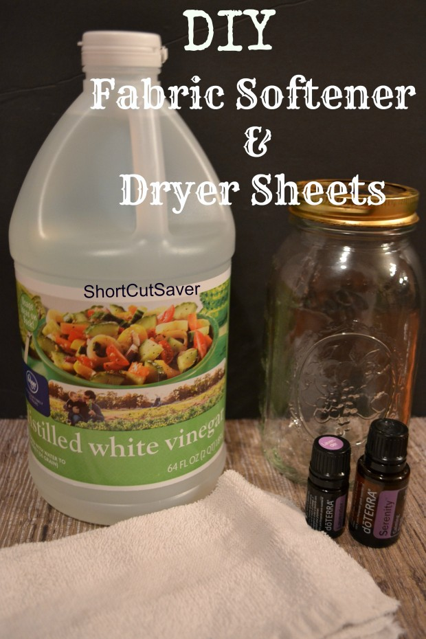 DIY Fabric Softener and Dryer Sheets