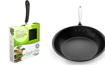 "Review:  10"" Stainless Steel Earth Pan by Ozeri"