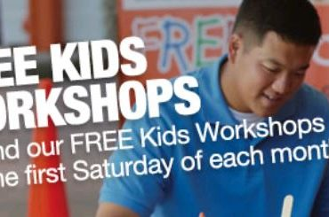 FREE Home Depot Kids Workshops on 1/4 and 2/1 - Register Now as Spaces are Limited