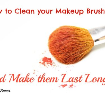 How to Clean Makeup Brushes and Make them Last Longer