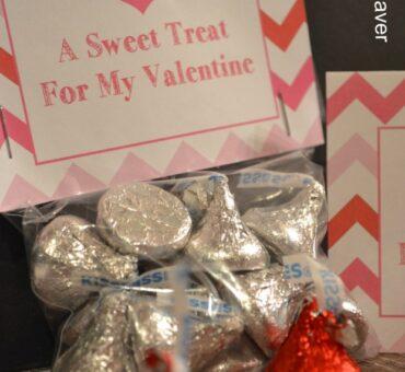 A Sweet Treat Bag Topper Valentine Printable