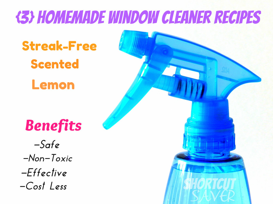 Homemade Window Cleaner Everyday Shortcuts