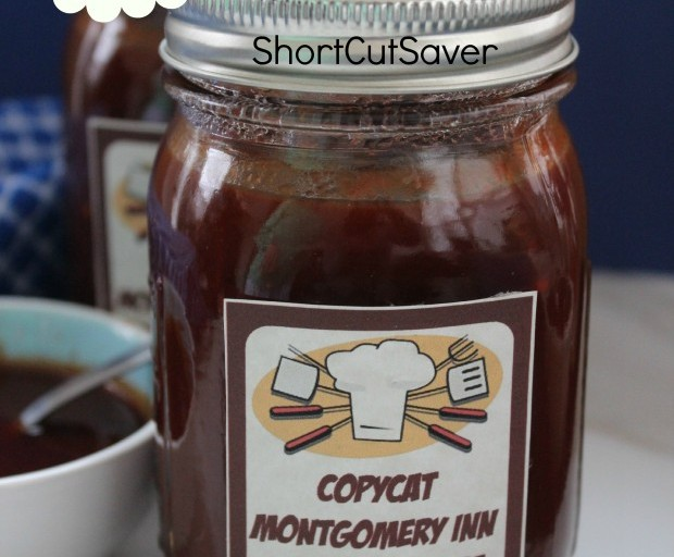 Copycat Recipe: Montgomery Inn Barbecue Sauce + FREE Printable Labels