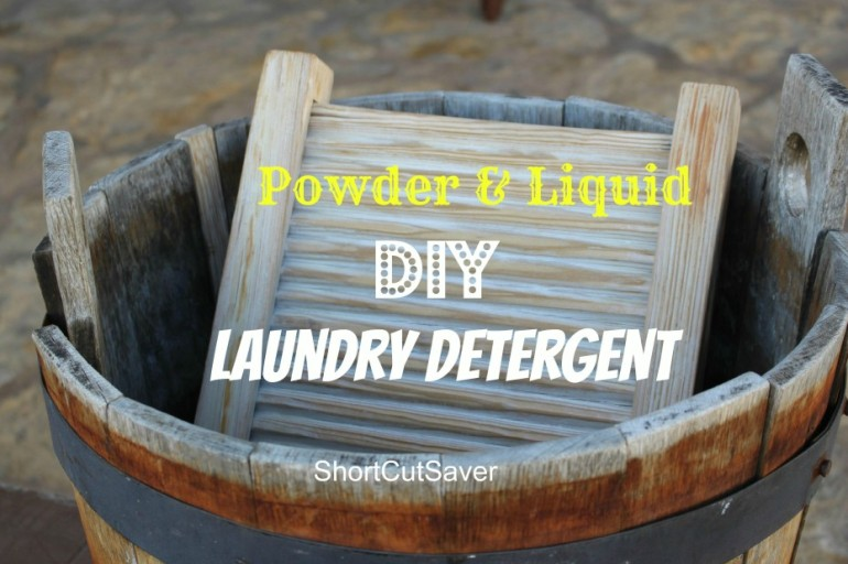 DIY Laundry Detergent – Powder & Liquid