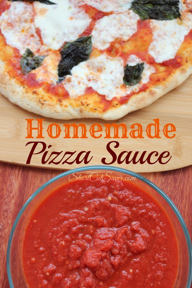 Homemade Pizza Sauce - Everyday Shortcuts