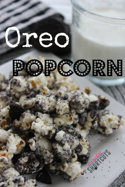 Oreo Popcorn Everyday Shortcuts