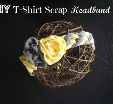 DIY T-Shirt Scrap Headband