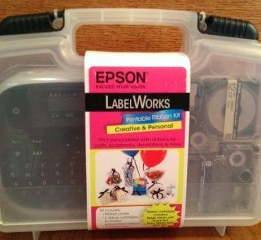 Espon LabelWorks Printable Ribbon Kit Review