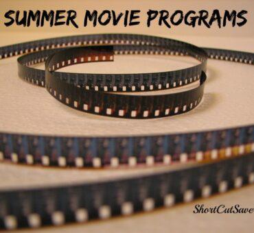 Summer Movie Programs for 2014