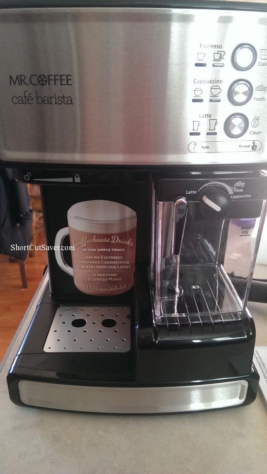 Imag0436 525x930 Mr Coffee Café Barista Espresso Maker