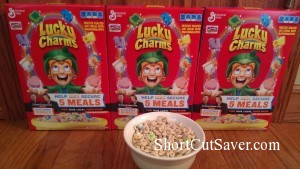 Lucky Charms Cereal Review and #LuckyToBe Campaign