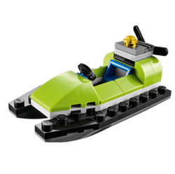 LEGO Store: Build a Free LEGO Jet Ski Mini Model (Tuesday June 3rd)