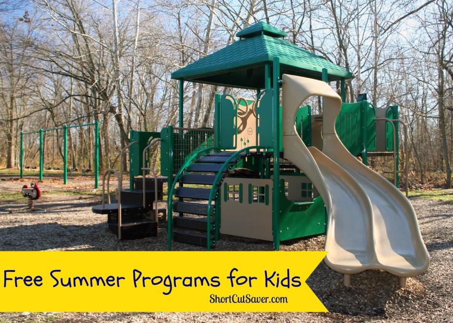 free summer programs for kids