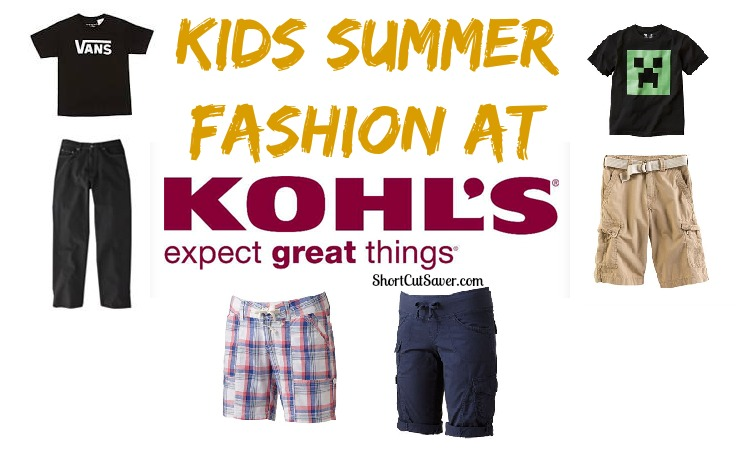 d0beef20c1c Kids Summer Fashion at Kohl s - Everyday Shortcuts
