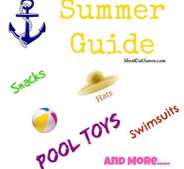 Summer Guide - Snacks, Hats, Swimsuits, Pool Toys, and More