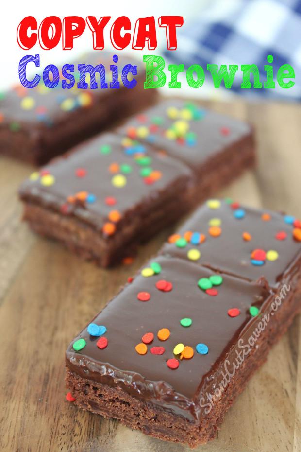 Copycat Cosmic Brownie
