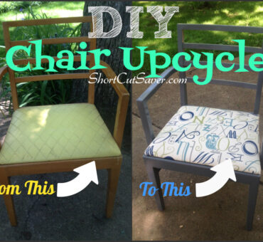 DIY Chair Upcycle for Under $10