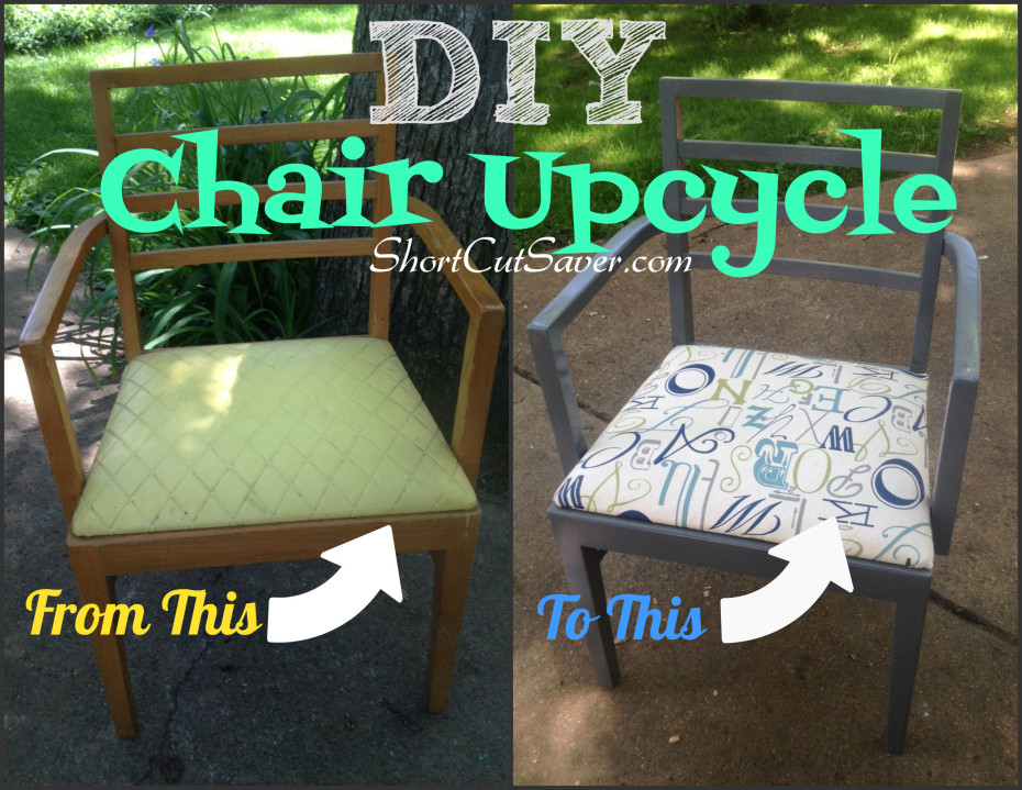 DIY chair upcycle
