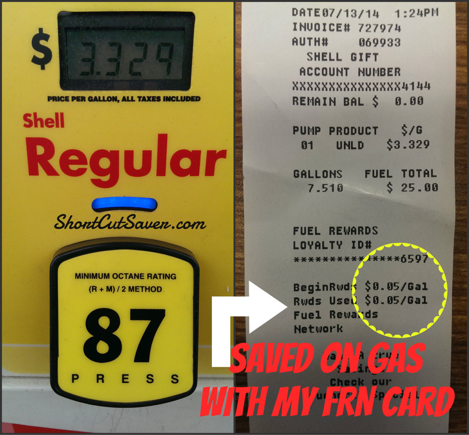 fuel rewards network card 930x863 - How To Use Shell Fuel Rewards Card