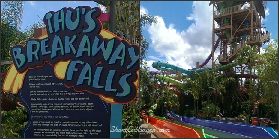 SeaWorld Breakaway Falls