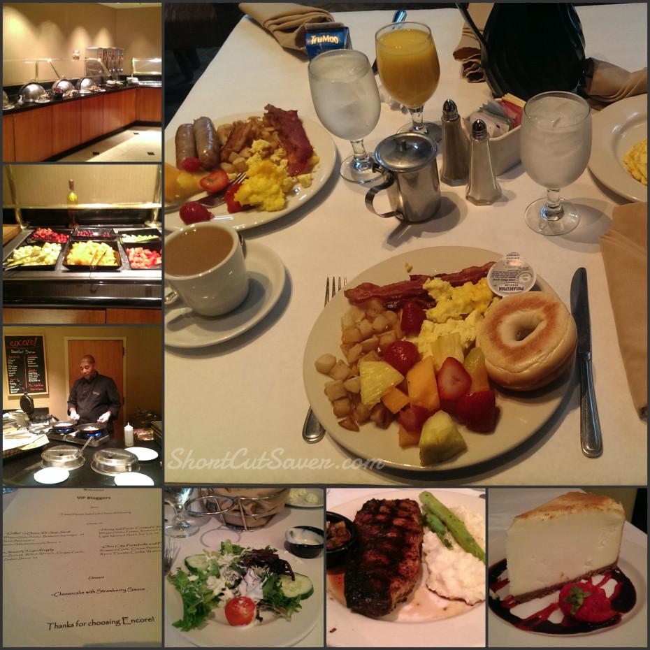 Wyndham hotel food