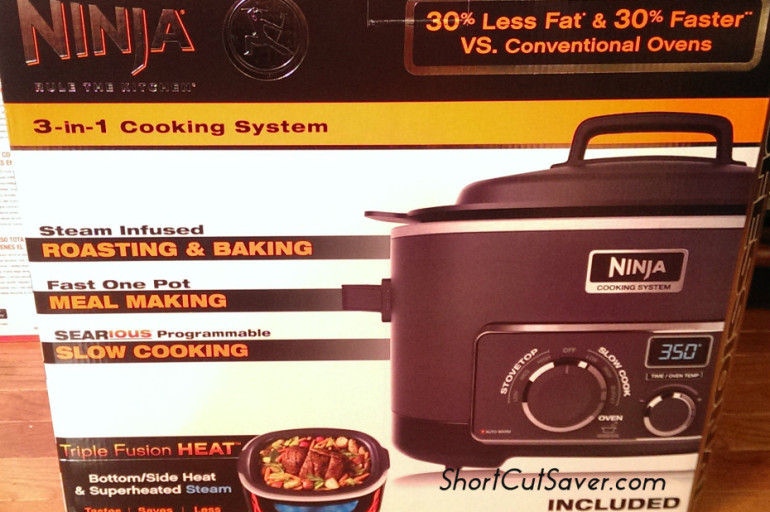 Ninja 3-in-1 Cooking System can Save Time and Cook Healthier Meals