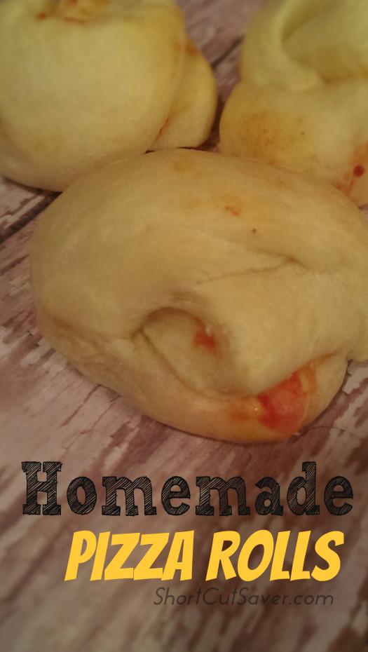 Homemade Pizza Rolls