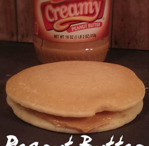 Peanut Butter Pancake Sandwich