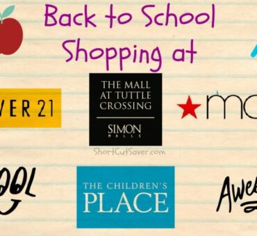 Back to School Shopping at Tuttle Crossing Mall