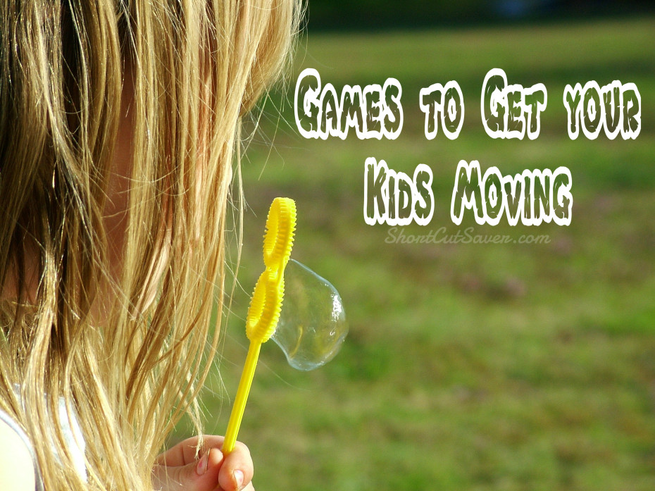 games to get your kids moving