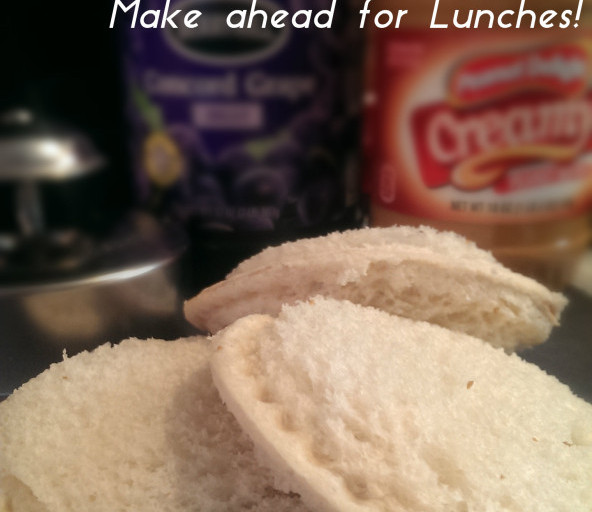 Homemade Uncrustables (Make Ahead for Lunches)