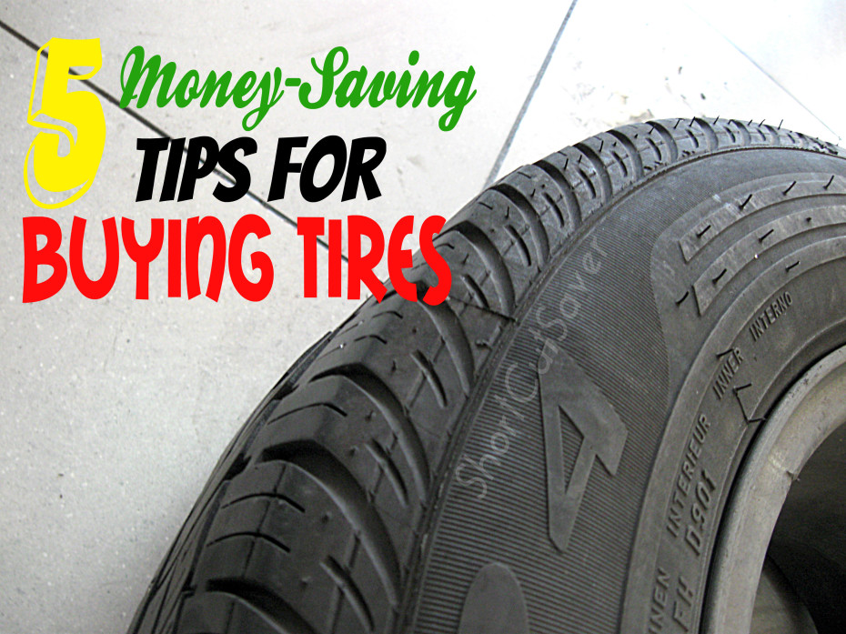 money saving tips for buying tires