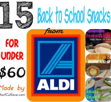 15 Back to School Snacks for Under $60 from Aldi