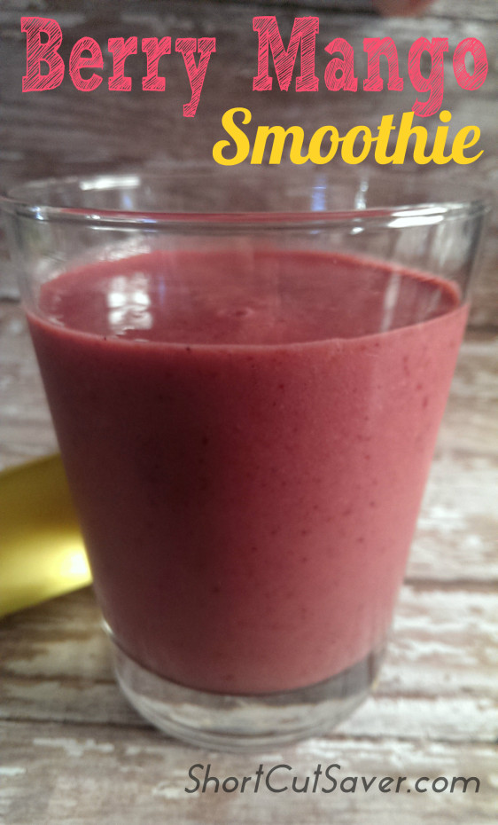Berry Mango Smoothie
