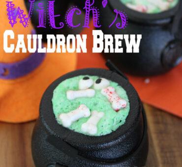 Jell-O Witch's Cauldron Brew