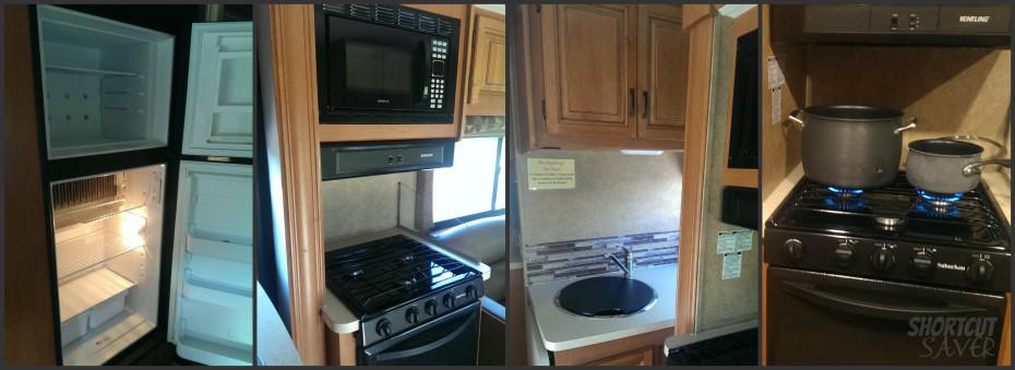 Kitchen in RV
