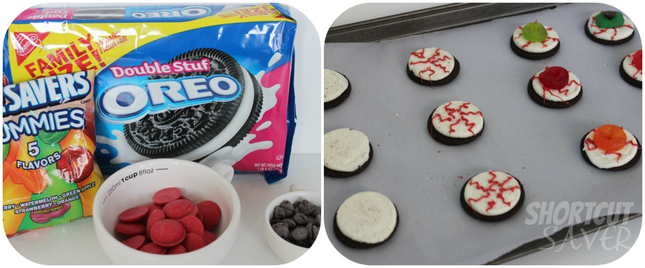 Oreo Eyeballs ingredients