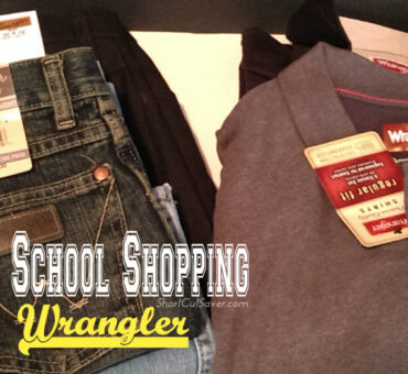 Back to School Shopping with Wrangler