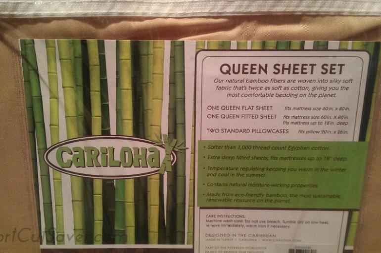 Cariloha Sheets Review